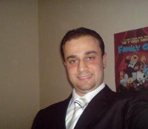 Male escort in London called Nizar Maksoud